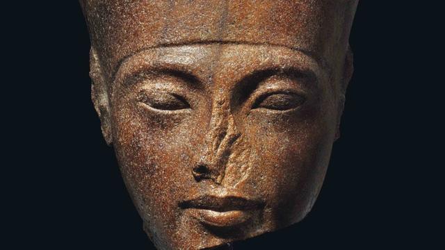 Nghi tượng Pharaoh bị đánh cắp, Ai Cập ngăn đấu giá ở London - Ảnh 1.