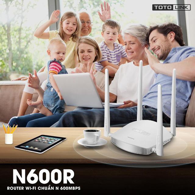 TOTOLINK N600R - sự lựa chọn thông minh cho wifi gia đình bạn - Ảnh 1.
