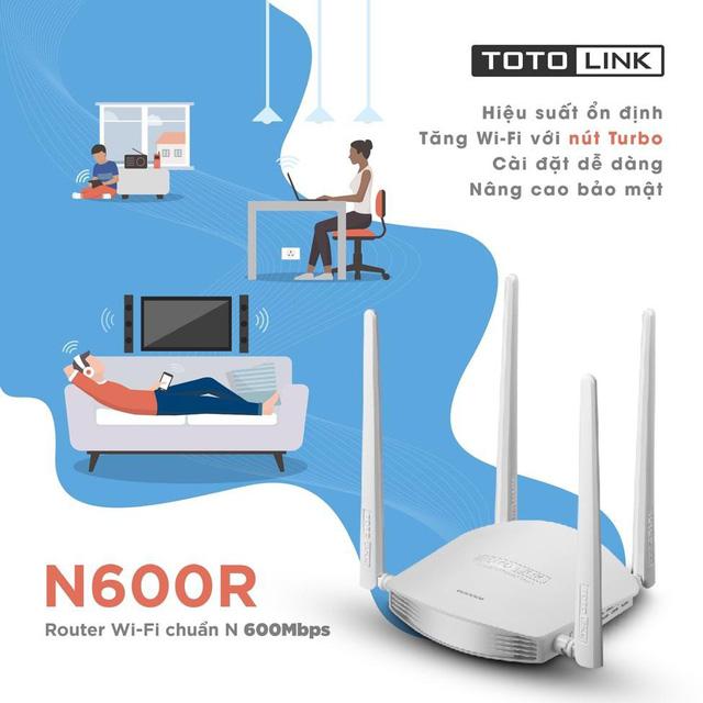 TOTOLINK N600R - sự lựa chọn thông minh cho wifi gia đình bạn - Ảnh 2.