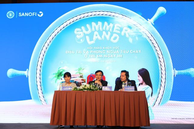 Hội thảo Điều trị và phòng ngừa tiêu chảy ở trẻ em ngày hè - Ảnh 1.