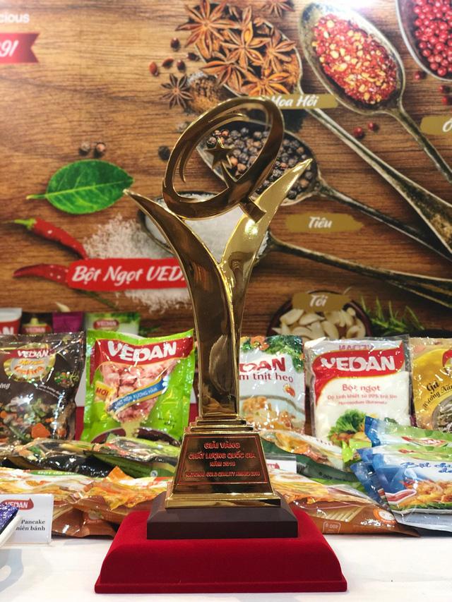 Vedan Việt Nam nhận Giải Vàng Chất lượng Quốc gia năm 2018 - Ảnh 2.