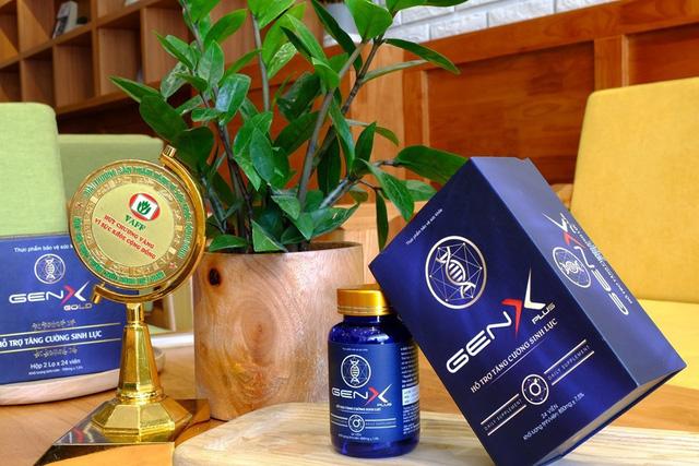 Thực phẩm bảo vệ sức khỏe Gen X Plus dành cho nam giới - Ảnh 1.