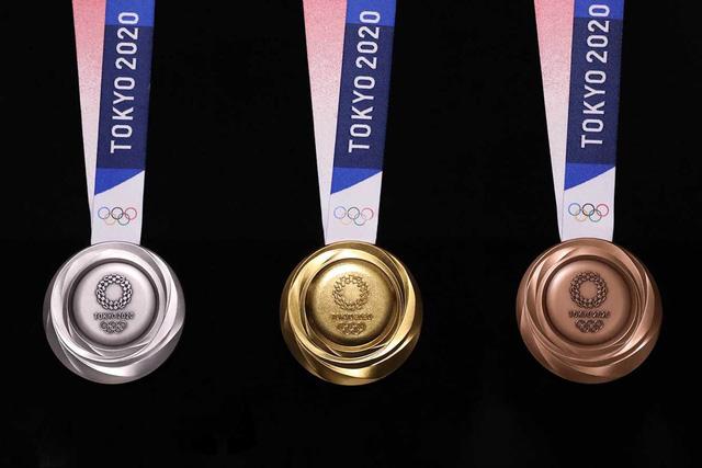 Tokyo công bố mẫu huy chương Olympic 2020 làm từ rác điện tử - Ảnh 1.