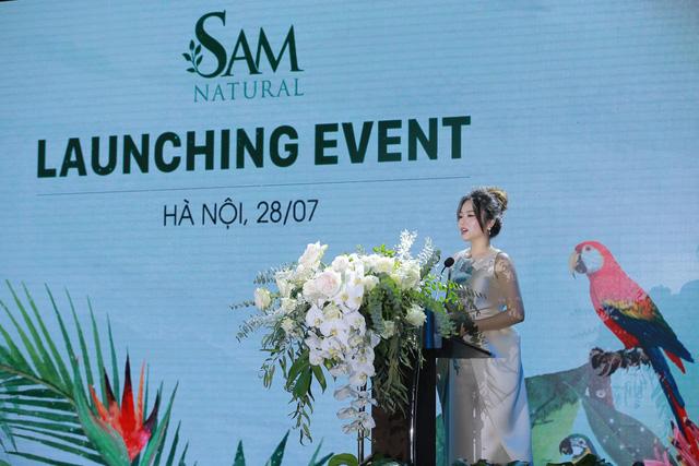 Thương hiệu Sam Natural chính thức ra mắt thị trường - Ảnh 3.