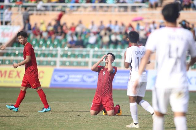 Thua U18 Campuchia, U18 Việt Nam dừng bước ở vòng bảng giải đấu trên sân nhà - Ảnh 1.