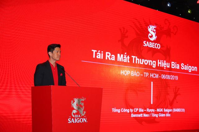 SABECO tái ra mắt thương hiệu Bia Saigon - Ảnh 1.