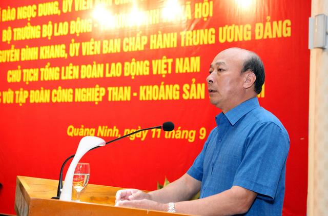 Tập đoàn Than - khoáng sản đề nghị tuổi nghỉ hưu thợ lò là 50 - Ảnh 1.