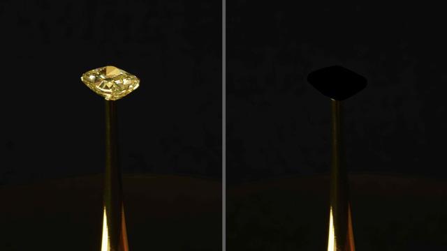 Hé lộ vật chất đen tối nhất thế giới, che phủ hoàn toàn kim cương - Ảnh 1.