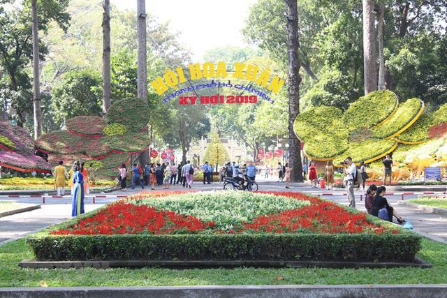 Hội hoa Xuân TP Hồ Chí Minh sẽ kéo dài 12 ngày - Ảnh 1.