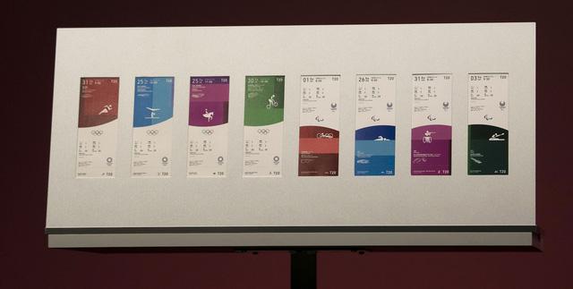 Công bố các mẫu vé Olympic và Paralympic Tokyo 2020 - Ảnh 1.