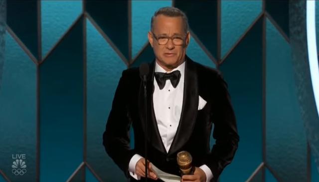 Tom Hanks nhận giải Quả cầu vàng thành tựu trọn đời