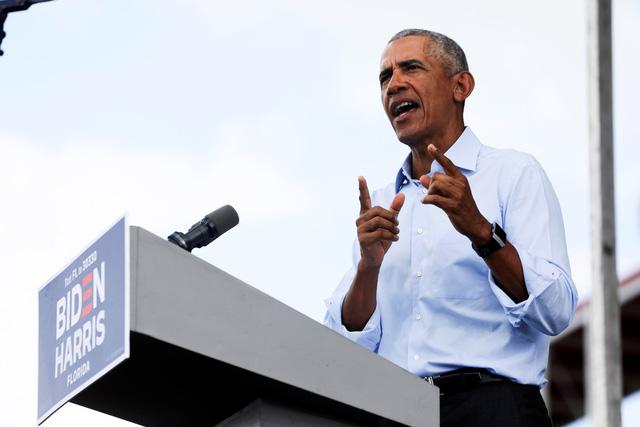 Ông Obama nói ông Trump ganh ghét với độ phủ sóng của COVID-19 - Ảnh 1.