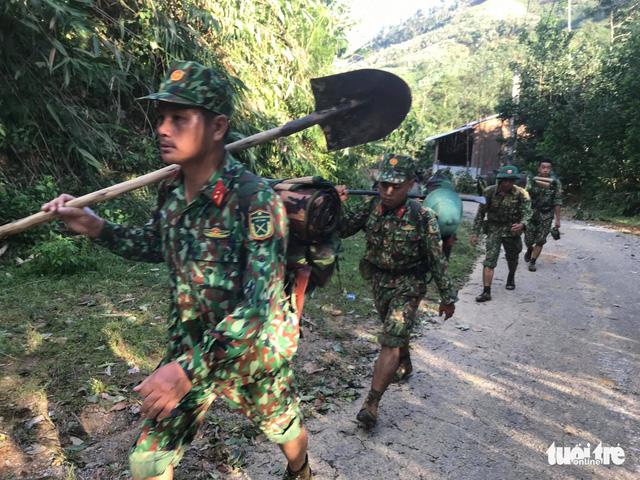 Cập nhật mới nhất ở Nam Trà My: Hơn 30 người sống sót, còn 13 người mất tích - Ảnh 1.
