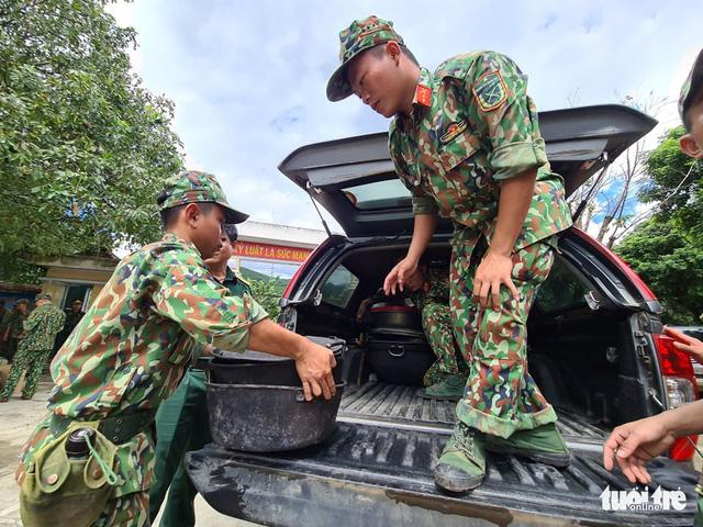 Sạt lở ở Quảng Nam: Đã tìm được 16 nạn nhân từ Trà Vân - Trà Leng  - Ảnh 3.