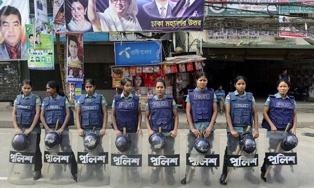 Bangladesh thành lập đơn vị cảnh sát toàn nữ để chống bạo lực trên mạng - Ảnh 1.