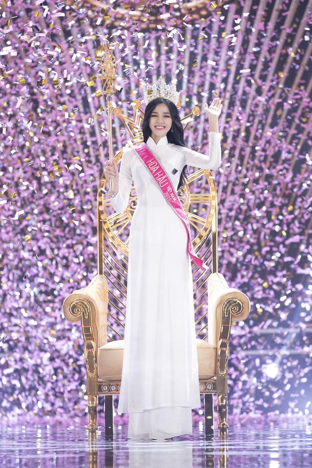 Đỗ Thị Hà đoạt vương miện Một thập kỷ nhan sắc - Hoa hậu Việt Nam 2020 - Ảnh 3.