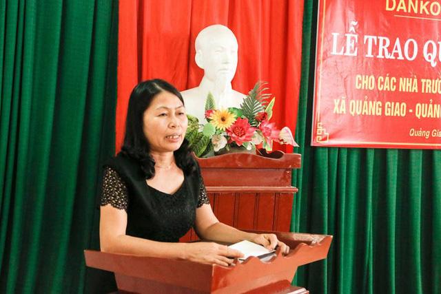 Danko Group trao Quỹ học bổng Danko cho các trường tại xã Quảng Giao, tỉnh Thanh Hóa - Ảnh 6.