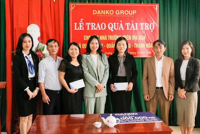Danko Group trao Quỹ học bổng Danko cho các trường tại xã Quảng Giao, tỉnh Thanh Hóa - Ảnh 8.