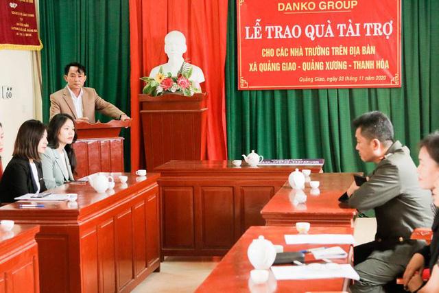 Danko Group trao Quỹ học bổng Danko cho các trường tại xã Quảng Giao, tỉnh Thanh Hóa - Ảnh 10.