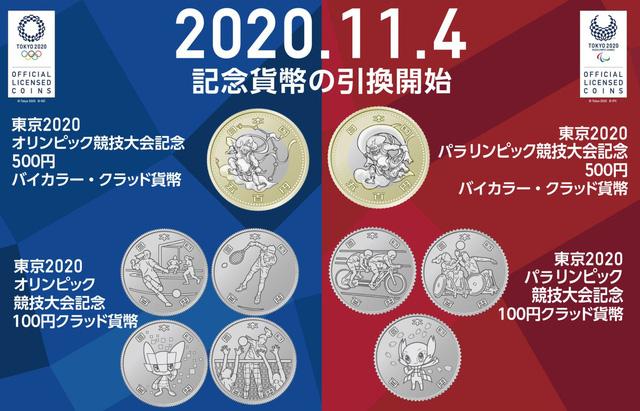 Nhật Bản phát hành thêm 9 đồng xu kỷ niệm Olympic Tokyo 2020 - Ảnh 1.