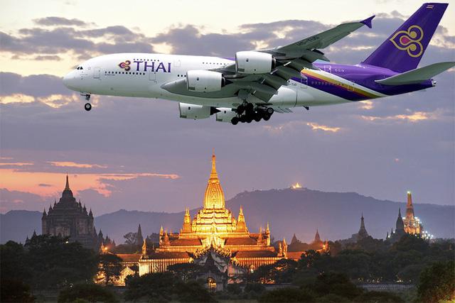 Hãng hàng không Thái Lan thiết kế chuyến bay qua 99 địa điểm linh thiêng - Ảnh 1.
