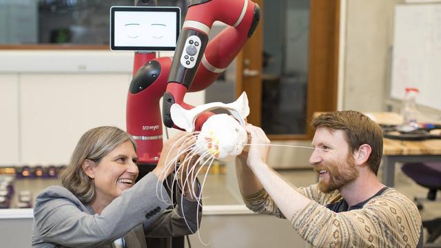 Mỹ phát triển robot mềm dẻo và linh hoạt như con người - Ảnh 1.