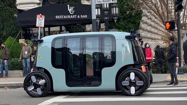 Mẫu taxi robot có thiết kế lạ mắt - Ảnh 1.