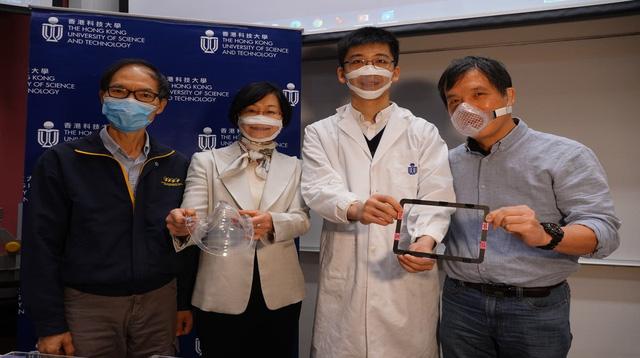 Khẩu trang được làm từ tấm màng nano polymer siêu mỏng - Ảnh 1.