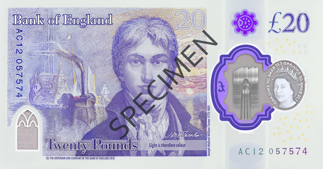 Anh chính thức lưu hành tờ tiền polymer mệnh giá 20 bảng - Ảnh 1.