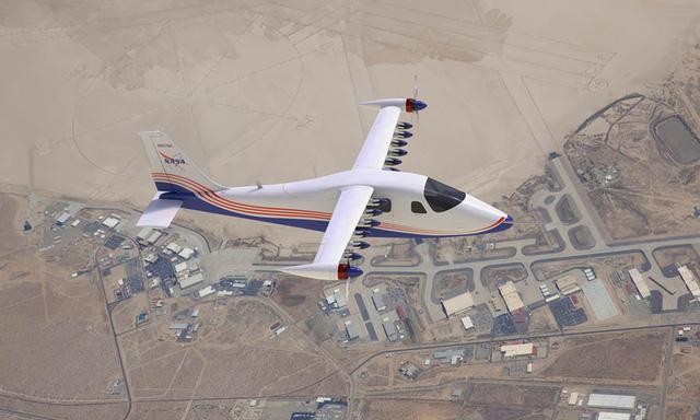 NASA tiết lộ những hình ảnh đầu tiên về chiếc máy bay chạy hoàn toàn bằng điện - Ảnh 1.