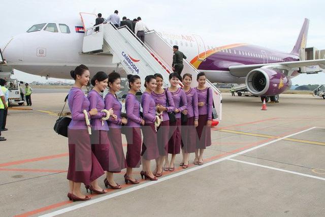 Campuchia quyết định giảm thuế trong ba tháng cho các công ty hàng không - Ảnh 1.