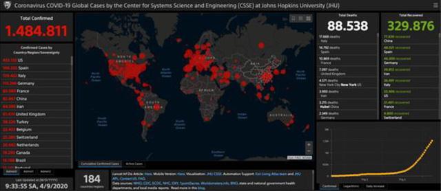 Bản đồ COVID-19 của Đại học Johns Hopkins thu thập dữ liệu thế nào? - Ảnh 1.