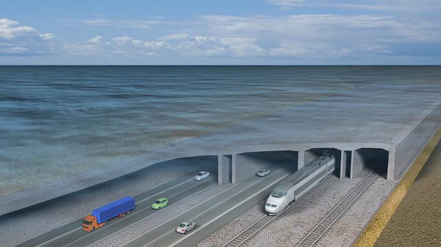Đan Mạch xây dựng đường hầm vượt biển dài nhất thế giới - Ảnh 1.
