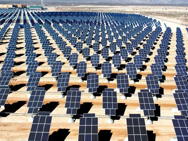 Mỹ thông qua dự án năng lượng Mặt Trời khổng lồ tại Nevada - Ảnh 1.