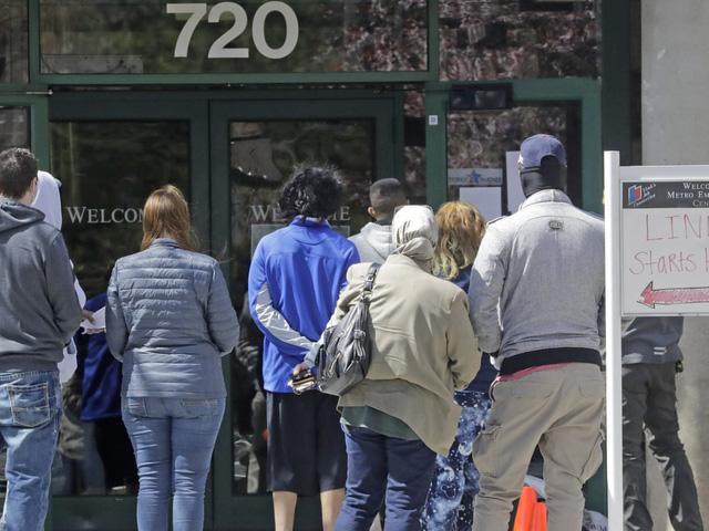 Số người xin trợ cấp thất nghiệp ở Mỹ tăng lên 36,5 triệu người - Ảnh 1.