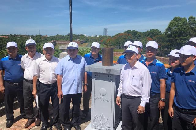 Đặt trạm đo mưa tại di tích đài thiên văn cổ duy nhất còn lại ở Việt Nam - Ảnh 1.
