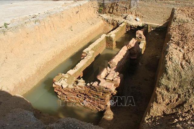 Ninh Bình phát hiện kiến trúc mộ gạch thế kỷ III sau công nguyên - Ảnh 1.