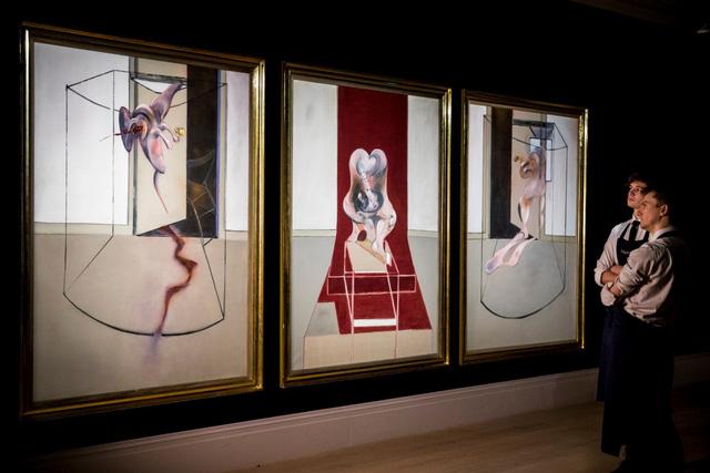 Danh họa F.Bacon và phiên đấu giá đặc biệt của Sothebys - Ảnh 1.