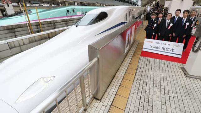 Nhật Bản ra mắt tàu cao tốc phá kỷ lục tốc độ, vẫn chạy dù xảy ra động đất - Ảnh 1.