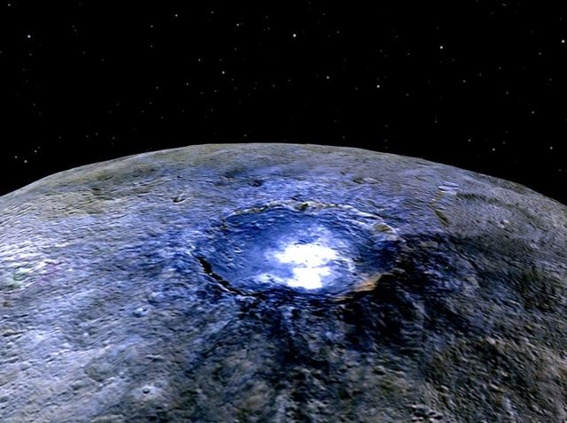 Bất ngờ với bí ẩn về hành tinh lùn Ceres - Ảnh 1.