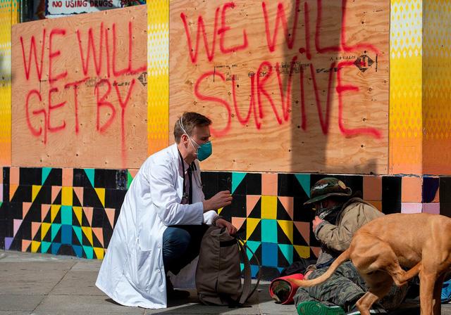 Tình trạng vô gia cư gia tăng trên toàn cầu - Ảnh 1.