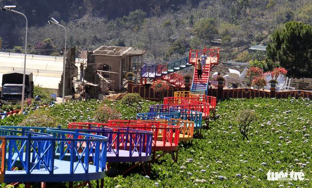 Lo ngại xây dựng trái phép, Đà Lạt dừng phát triển du lịch canh nông - Ảnh 1.
