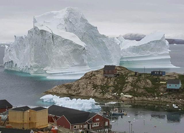 Sông băng lớn nhất tại Greenland đang tan chảy - Ảnh 1.