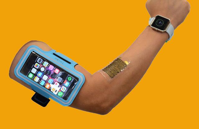 Công nghệ biến mồ hôi thành nhiên liệu cho pin sinh học - Ảnh 1.