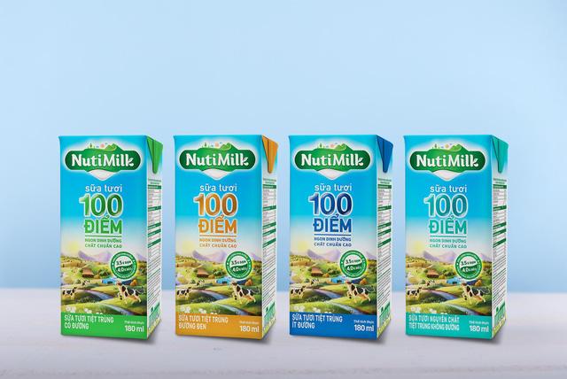 Nutifood ra mắt thương hiệu Nutimilk - dòng sản phẩm chuẩn cao - Ảnh 2.