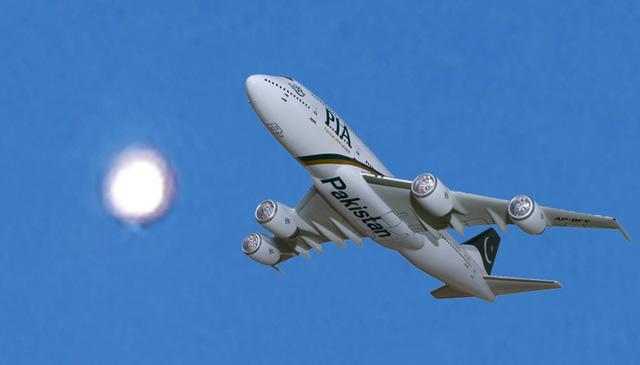 Phi công Pakistan phát hiện vật thể lạ cực sáng ở độ cao hơn 10km - Ảnh 1.