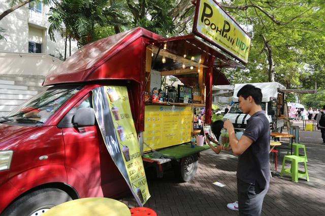 Thái Lan phát triển thị trường xe bán thức ăn lưu động - Ảnh 1.