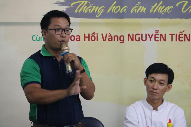 Sinh viên Việt Giao tiếp lửa từ Hoa hồi vàng và hoa hậu - Ảnh 2.