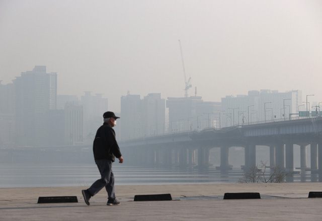 Hàn Quốc cung cấp bản đồ chất lượng không khí thời gian thực - Ảnh 1.