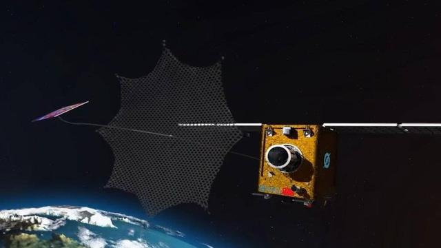 Trung Quốc phóng robot dọn rác thải vũ trụ - Ảnh 1.